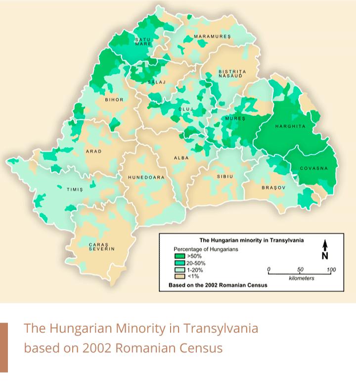 Hungarian Minority in Transylvania — Census 2002