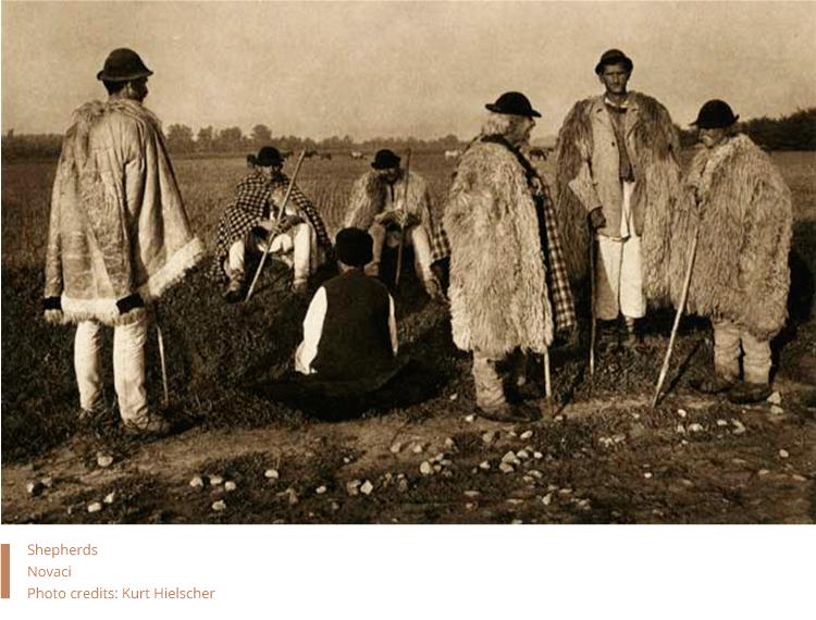 Shepherds from Novaci. Photo by Kurt Hielscher