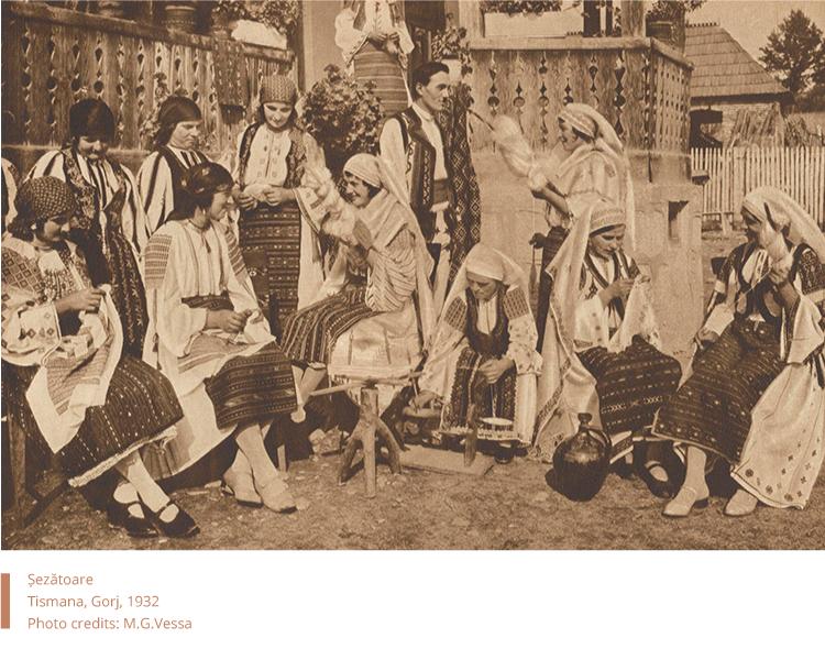 Sezatoare-in-tismana-MG.Vessa, 1932