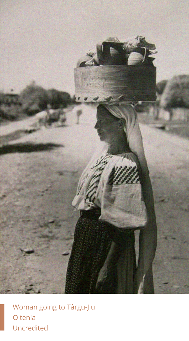 Woman going to Târgu-Jiu, Oltenia, Uncredited