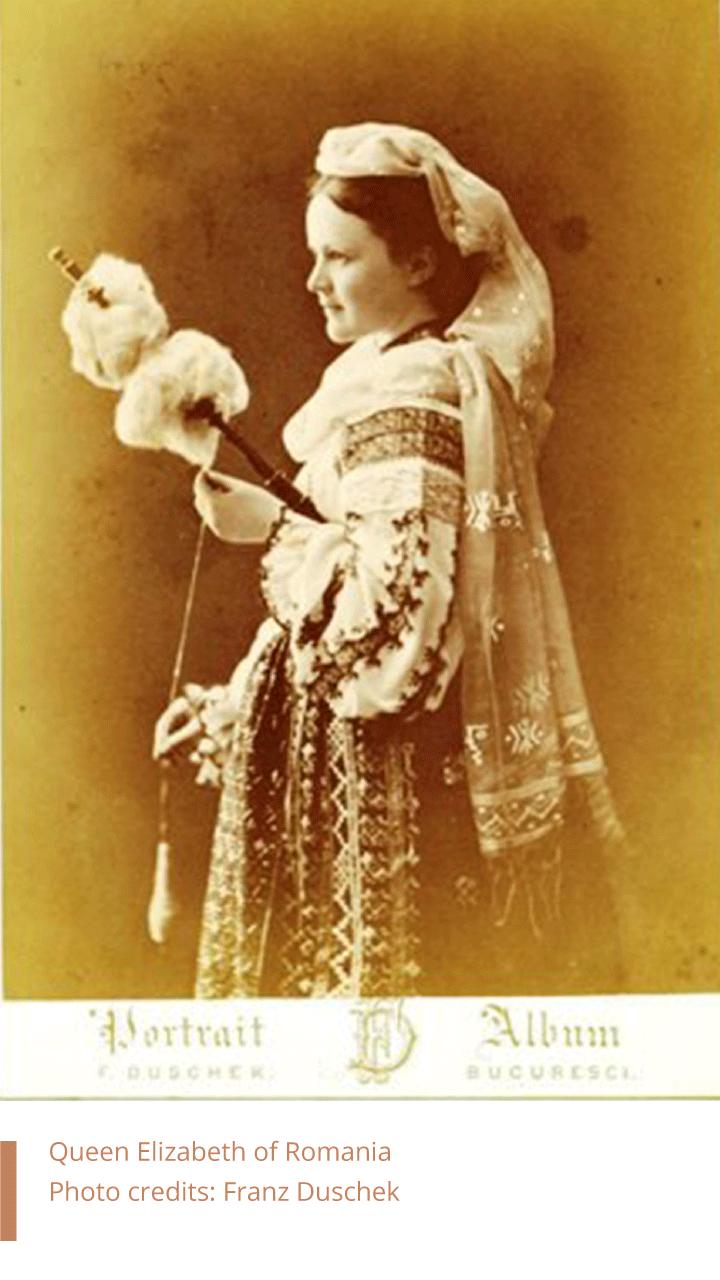 Queen Elizabeth of Romania. Photo by Franz Duschek