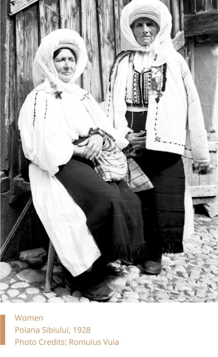 Women from Poiana Sibiului, 1928, Romulus Vuia