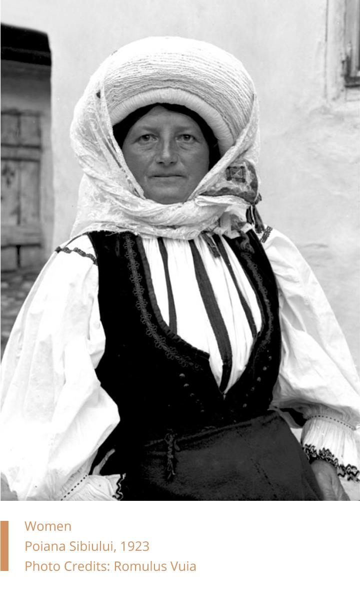 Woman from Poiana Sibiului, Romulus Vuia, 1923