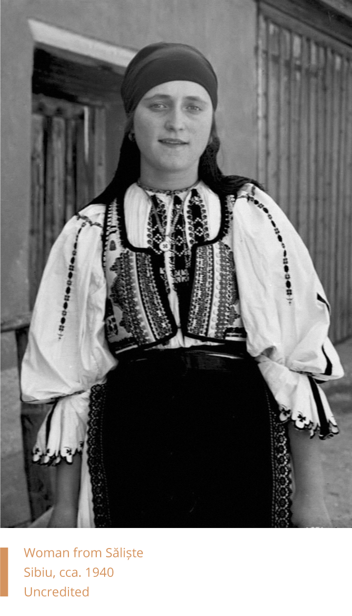 Woman from Saliste, Sibiu, 1928 Uncredited