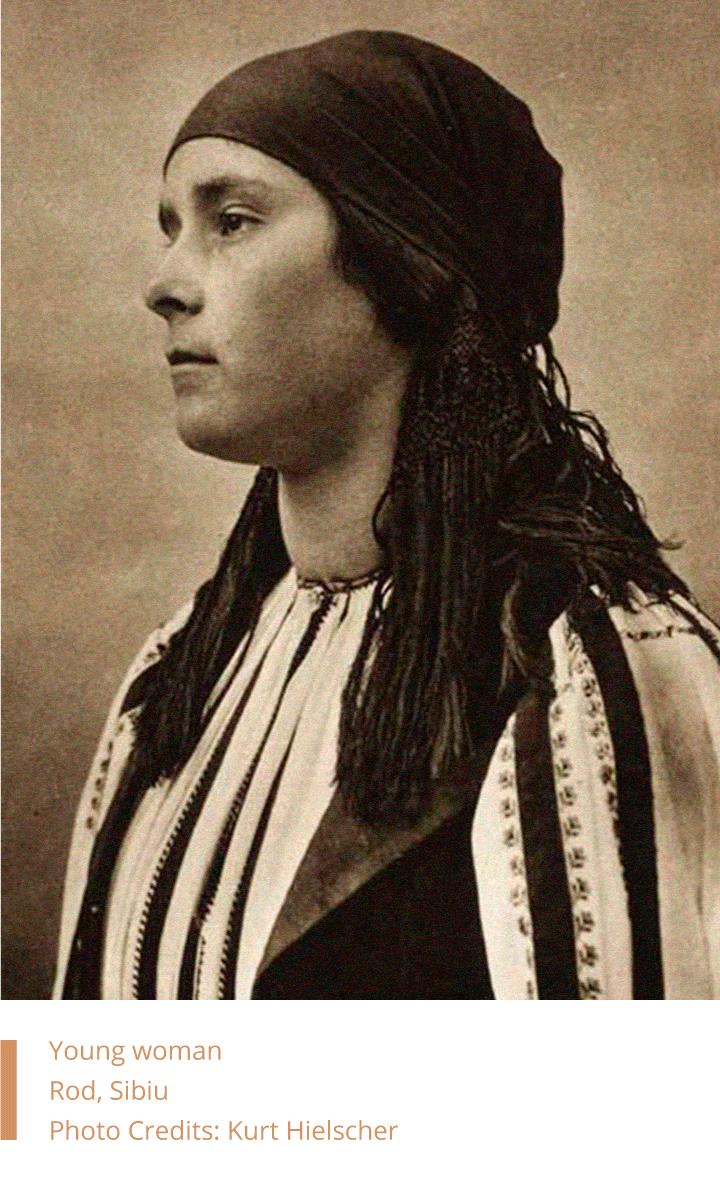 Young woman from Rod, Sibiu- Kurt Hielscher