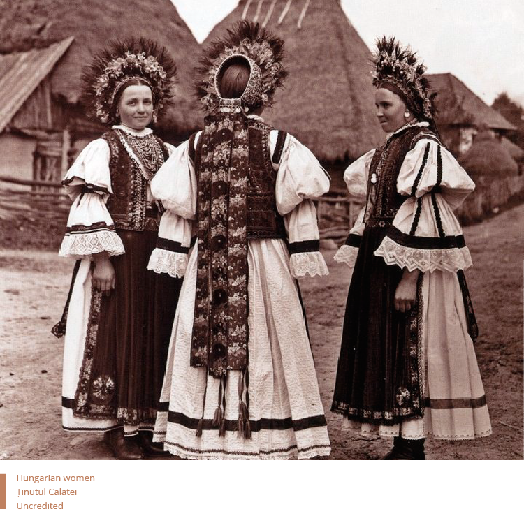 Folkwear-Society-History-Hungarian-women-TaraCalatele